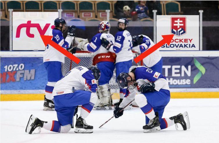 Slovensko hokej RTVS SZLH